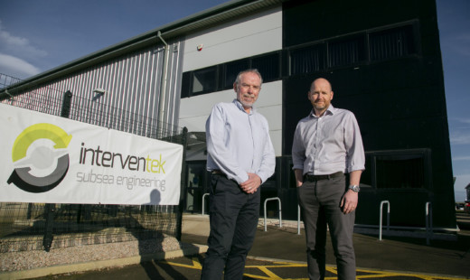 Interventek secures contracts in excess of £10M and relocates to new premises.