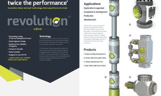 Revolution Valve Technology launched at OTC: A Revolution in Well Control Safety